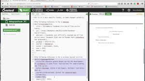 Overleaf Latex Apa6 Bibliography Tutorial Youtube