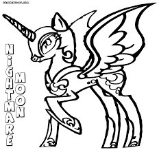 Small Picture Nightmare Moon coloring pages Coloring pages to download and print