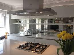 Kitchen Splashback Mirrored Kitchen Splashbacks Saligo Design Presents A Stunning