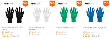 High Quality Cheap Disposable Black Nitrile Gloves Thicken