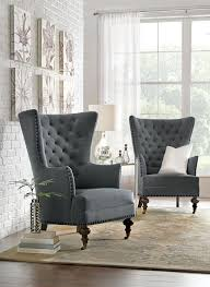 uniquely shaped chairs are a perfect home accent homedecorators com comfy armchairtufted armchairwingback