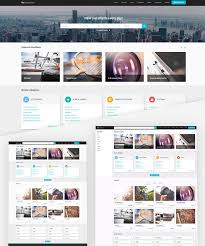 Template For Advertising Classified Advertising Website Template Joomla Monster