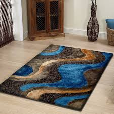 rug factory plus hand tufted brown blue area reviews wayfair for and plans 9