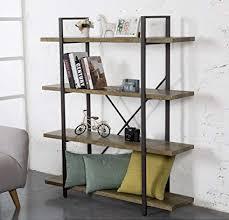 furniture industrial style. O\u0026K Furniture 4-Tier Bookcase, Vintage Industrial Style Bookshelves,  Green Furniture Industrial Style S