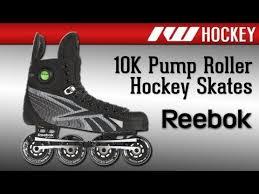 Reebok 10k Pump Roller Hockey Skate
