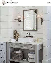 Pale grey shiplap | Bayou Farmstead in 2019 | Bathroom, Shiplap ...