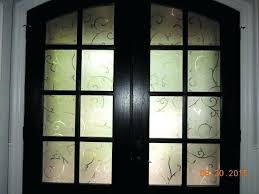 front door with window. Privacy Screen Door Film First Class Front Window Best Decorative Films With