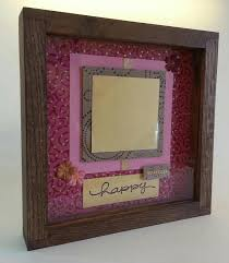 since factory made frames simply did not go well with her hand crafted items we thought it would be a good idea to make some homemade frames instead