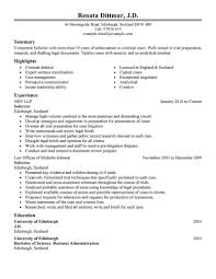 Best Legal Resume Example Livecareer