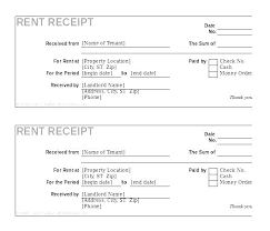 Free House Rent Receipt Format Awesome Rent Deposit Receipt Rental Payment Template 48 Form Free Uk R