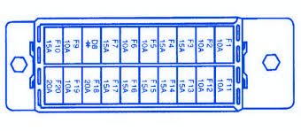 2000 daewoo nubira fuse box 2000 wiring diagrams online