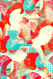 Designing Repeat Patterns For Textiles 1950s Inspired Repeat Pattern Abstract Pattern Abstract