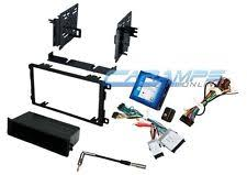 wire harness trailblazer single din car stereo radio dash kit bose onstar interface wire harness fits