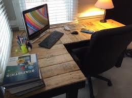 pallet furniture desk. gorgeous diy l shaped desk diy pallet computer furniture plans