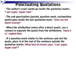 Punctuation Quotes Punctuation Of Dialogue Lessons Tes Teach