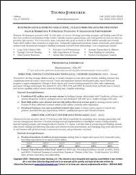 Sample Telecommunications Executive Resume 1 Abu Pinterest