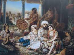 Image result for images pasha's harem 19th century