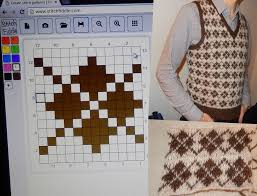 Create Your Own Knitting Chart Stitch Fiddle Stitchfiddle On Pinterest