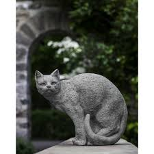 shadow cat garden statue kinsey garden decor
