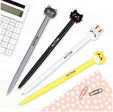 "<b>Ручка</b> шариковая автоматическая <b>Meshu</b> ""Cute Friends"", синяя"