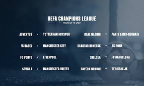 some big have come out of the hat as we prepare for the last 16 of the champions league in 2018 here s the low down on the draw and what we can