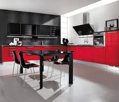 black and red kitchen designs. Fine Designs Black And Red Kitchen Designs Smart Home Decor Ideas Pictures Dark Wood  Small Cabinet Modern White For E