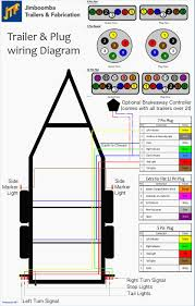 six wire trailer wiring diagram six prong trailer wiring diagram 6 way plug wiring diagram at 6 Prong Trailer Plug Diagram