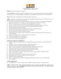 Sample Cover Letter For Volunteer Coordinator Position Animal