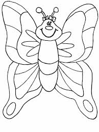 Kids Butterfly Coloring Pages For Preschool Animal Coloring