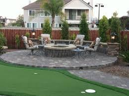 concrete patio with fire pit. Perfect Pit Concrete Patio Fire Pit Image And Description For With