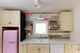 Light Pink Kitchen Little White Cottage Sarah Phipps Design