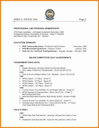golf professional resume 7 golf professional resume quick askips