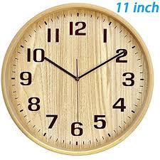 silent wall clocks classic handmade silent wall clock inches quiet wood clocks battery operated silent sweep silent wall clocks