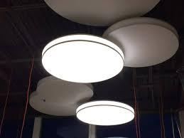 suspended lighting fixtures. Wavy Shaped Light Box; Circular Box Suspended Lighting Fixtures