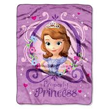 Sofia The First Throw Blanket