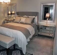 Gray and beige bedroom grey sheets. The paint is Benjamin Moore Wickham Gray.  Great in guest room!
