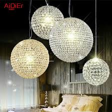 high quality crystal chandelier modern minimalist european style boutique spherical living room bedroom hotel villa lighting pendant lights sydney stained