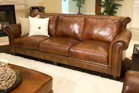 Sofas Top Grain Leather Sofa Brown Leather Loveseat Dark Leather