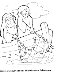 Small Picture Fishers Of Men Bible Coloring Pages Coloring Coloring Pages