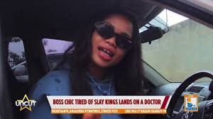 Boss Chic Alicia shows off her gift car | Sanyuka uncut - YouTube