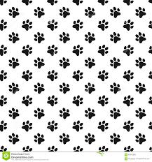 Paw Print Pattern Unique Ideas
