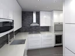 Kitchen Space Architectural Renderings Of Interiors