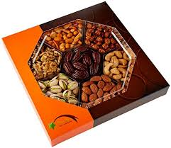 five star gift baskets gourmet food nuts gift