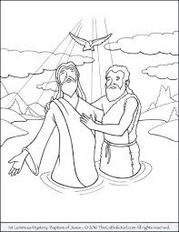 New Mysteries Of The Rosary Coloring Pages And The St Luminous