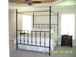 Wrought Iron Canopy Bed Frame Iron Canopy Beds Wrought Iron Canopy ...