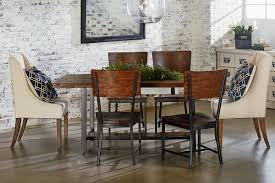 chairs dining room chairs. Interesting Chairs Industrial Dining With DemiWing Chairs For Room G