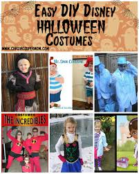 Homemade Disney Costume Ideas Diy Disney Halloween Costume Round Up Easy Diy Disney Halloween