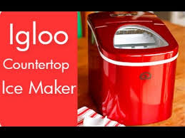 igloo countertop ice maker igloo countertop ice maker review unboxing
