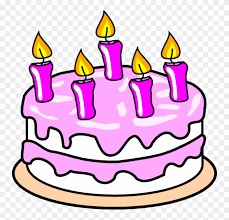 Birthday Cake Clip Art Free Coloring Picture Of Cake Png