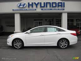 2012 Shimmering White Hyundai Sonata Limited 2.0T #59859682 ...